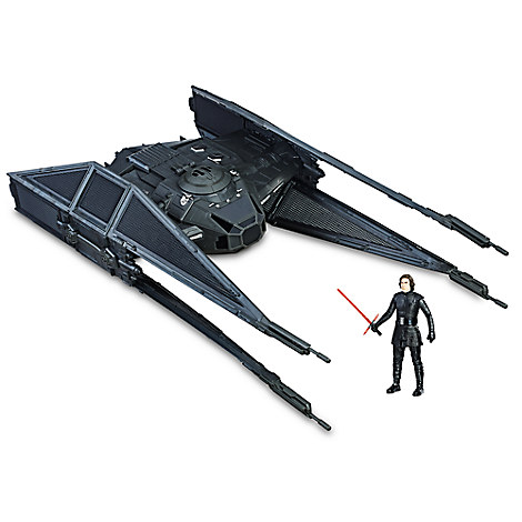 Kylo Ren TIE Silencer Force Link Play Set by Hasbro - Star Wars: The Last Jedi