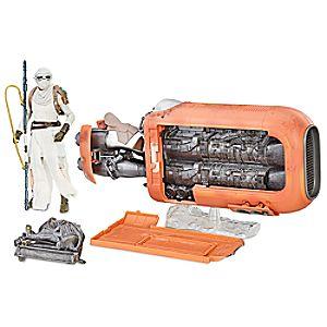 Rey's Speeder Set - Star Wars: The Black Series by Hasbro 3061045460374P