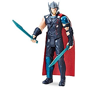 Thor Electronic Action Figure by Hasbro - Marvel Thor: Ragnarok 3061045460675P