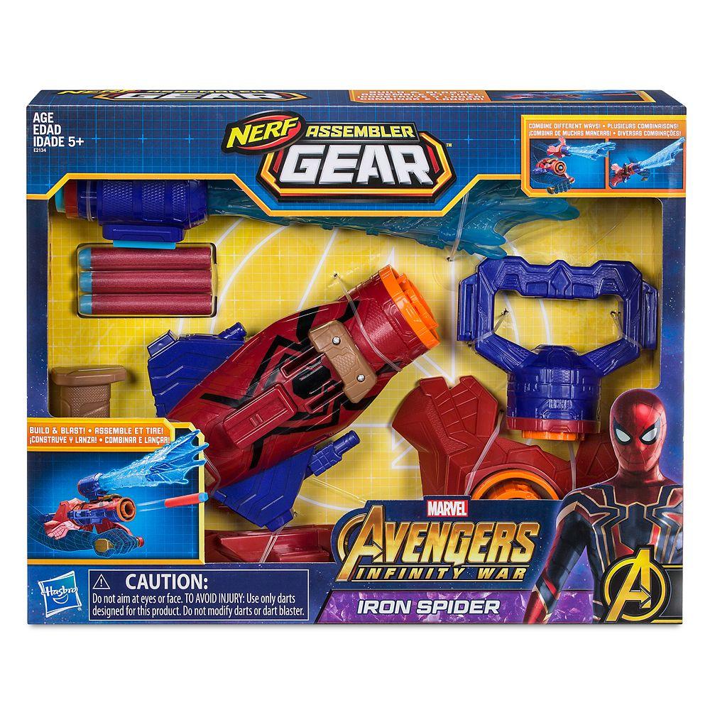 Iron Spider Assembler Gear by Nerf – Marvel's Avengers: Infinity War