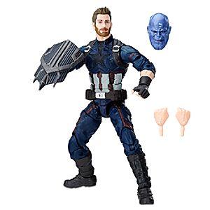Captain America Action Figure - Marvel's Avengers: Infinity War Legends Series 3061045460998P