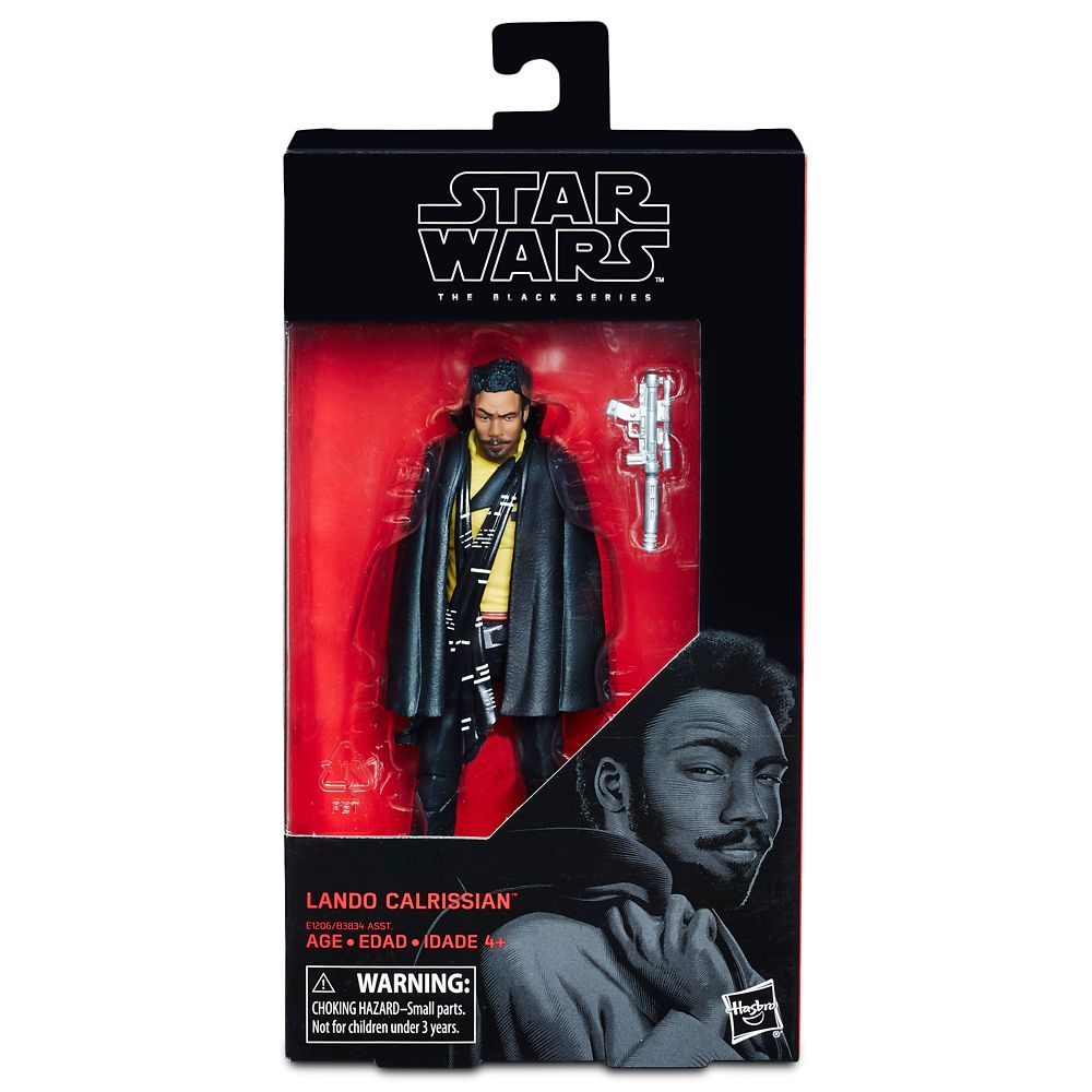 Lando Calrissian Action Figure – Solo: A Star Wars Story – The Black Series