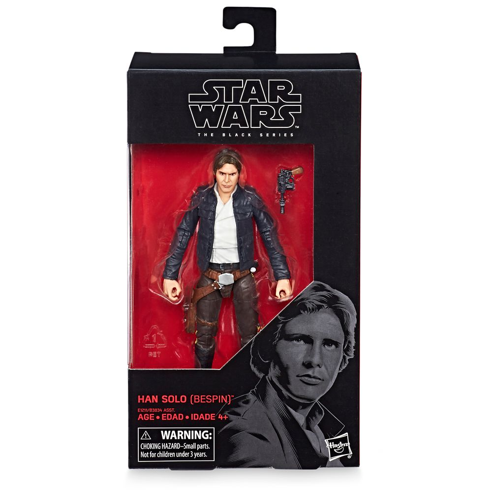 "Star Wars Black Series ~ 6/"" BESPIN HAN SOLO Action Figure ~ Empire Strikes Back"