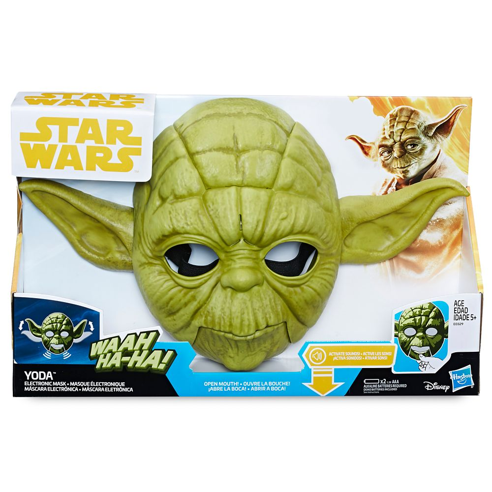 Yoda Electronic Mask for Kids by Hasbro – Star Wars