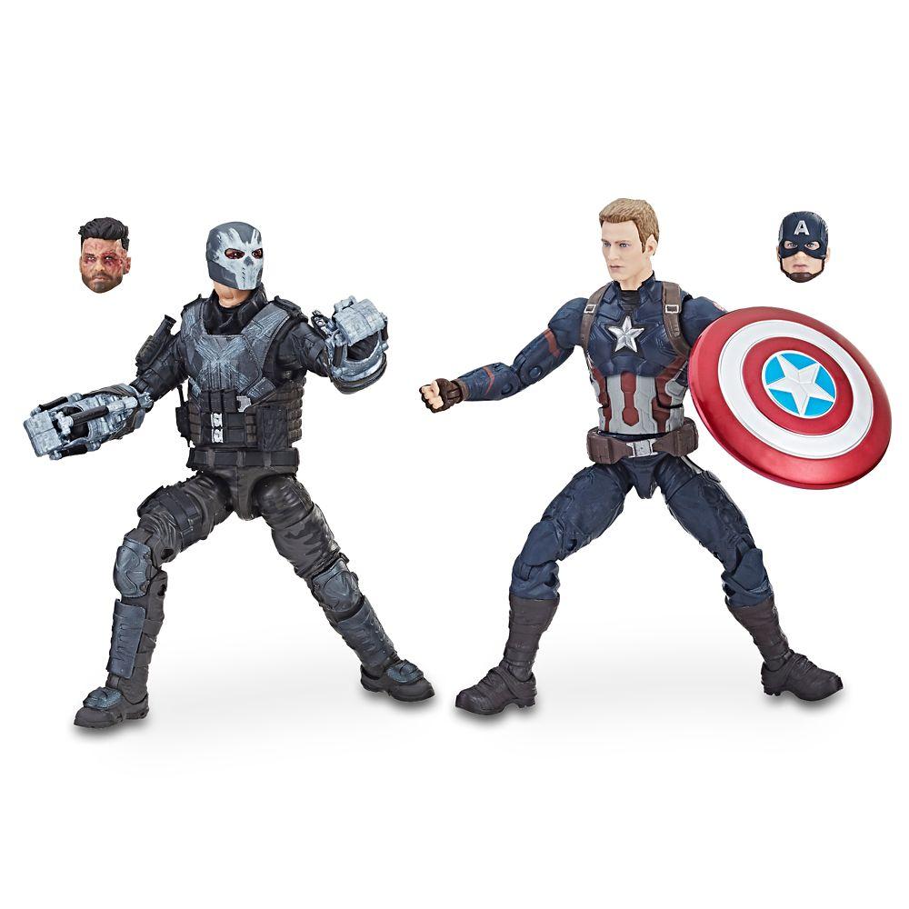 Captain America and Crossbones Action Figures – Legends Series – Marvel Studios 10th Anniversary