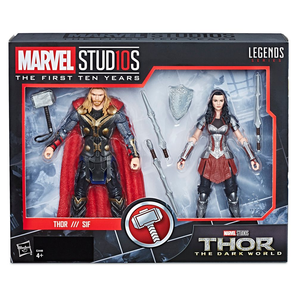 Thor and Sif Action Figure Set – Legends Series – Marvel Studios 10th Anniversary
