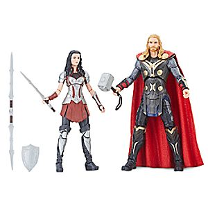 Thor and Sif Action Figure Set -