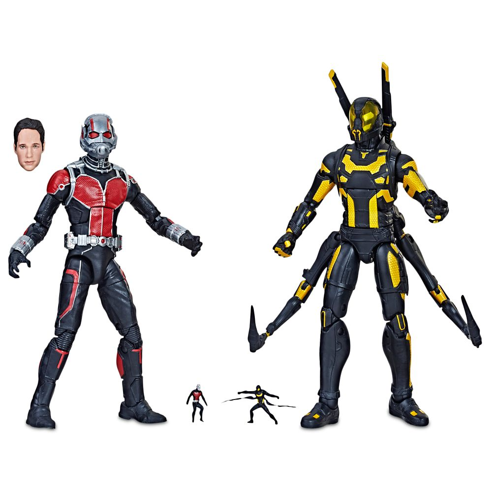 Ant-Man and Yellow Jacket Action Figure Set  Legends Series  Marvel Studios 10th Anniversary Official shopDisney