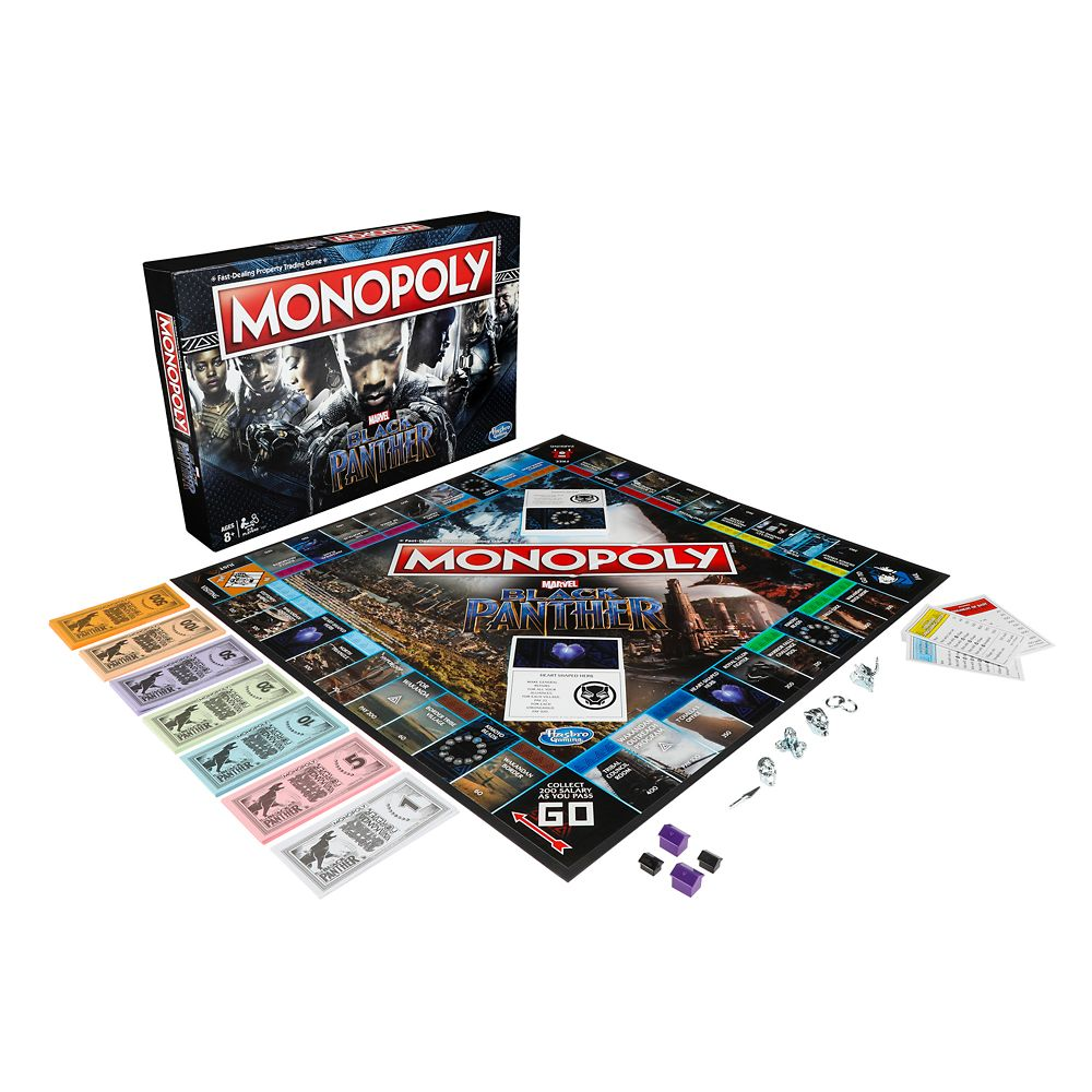 Black Panther Edition Monopoly Game