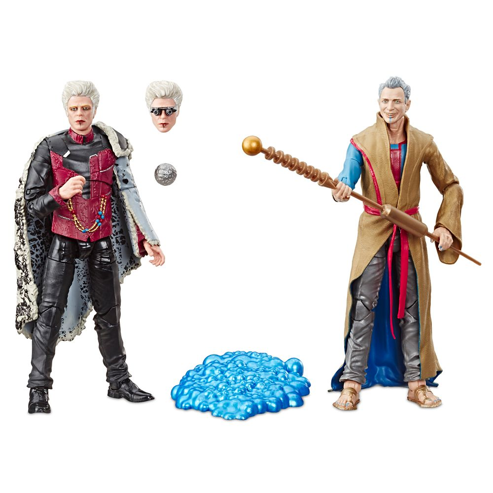 D23 Member – Grandmaster and The Collector Action Figure Set by Hasbro – Legends Series