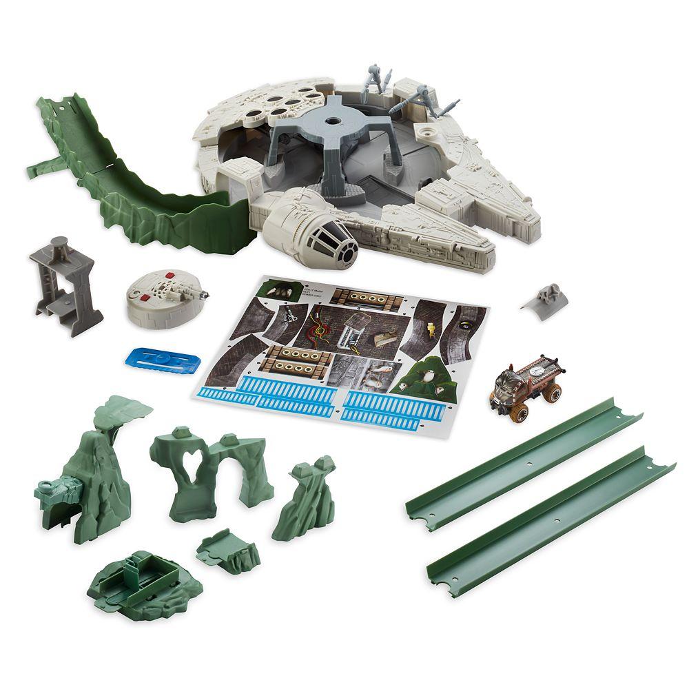 Millennium Falcon Track Set – Star Wars: The Last Jedi – Hot Wheels