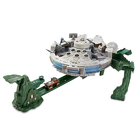 Hot Wheels Millennium Falcon Track Set - Star Wars: The Last Jedi