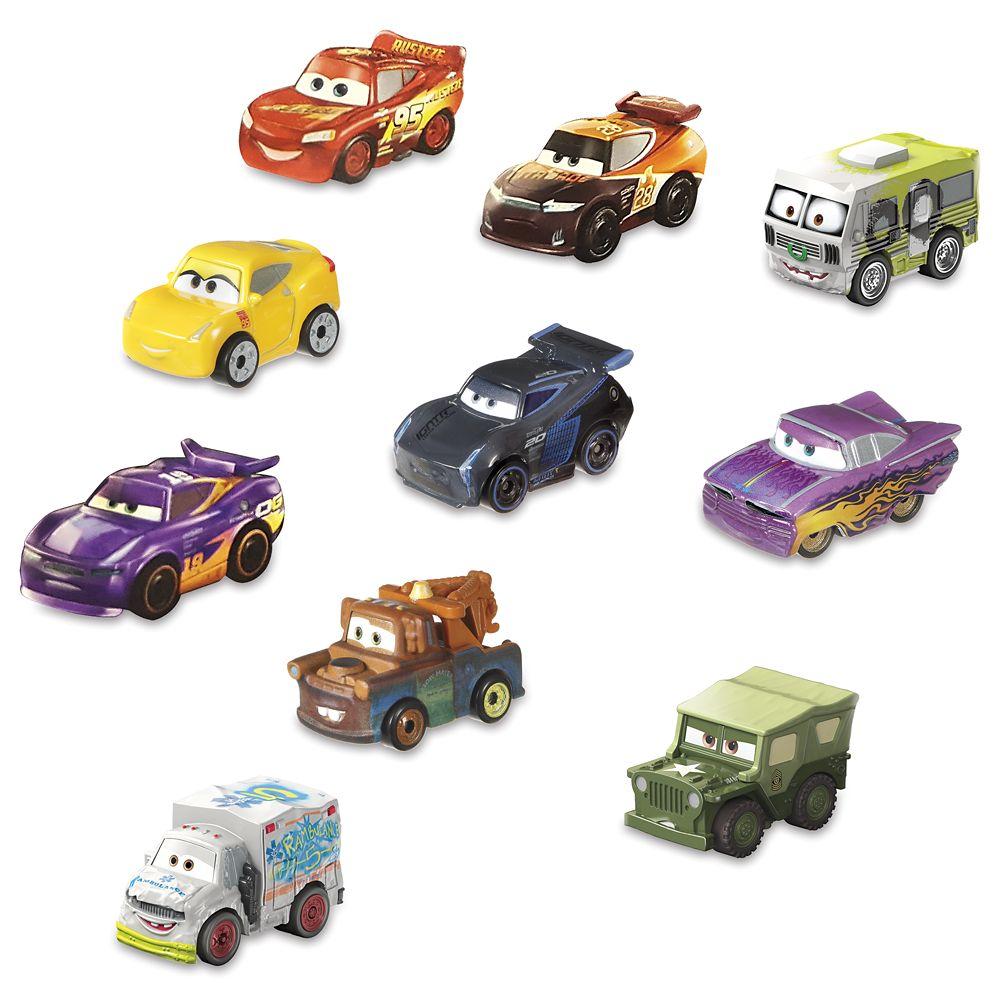 Cars Mini Racers Set Shopdisney