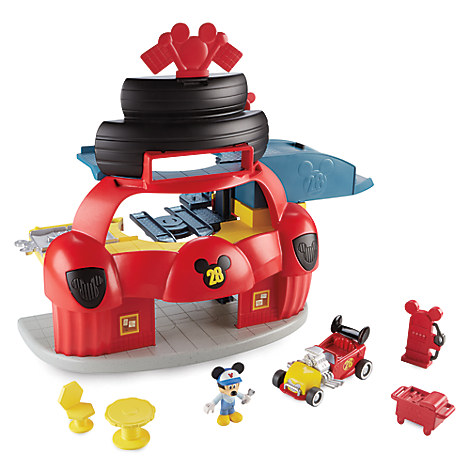 Mickey and the Roadster Racers Garage Play Set