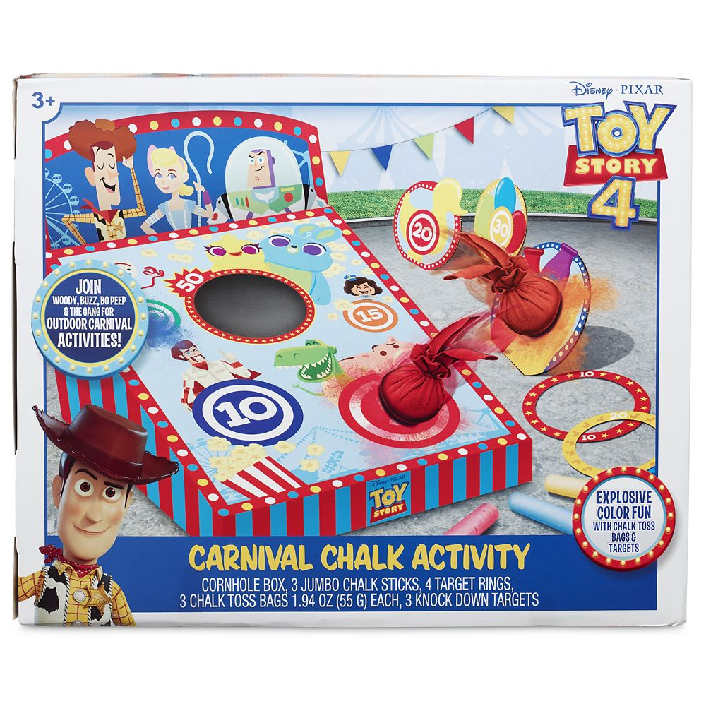 Toy Story 4 Carnival Chalk Activity