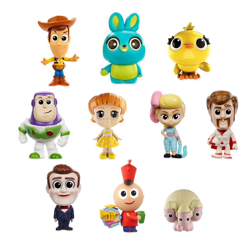 Toy Story 4 Minis Ultimate New Friends Figure Set