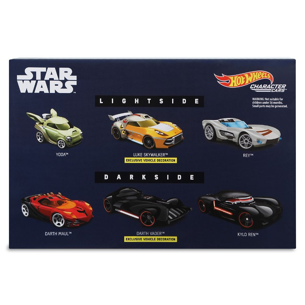 Star Wars: Light Side Vs. Dark Side Die Cast Car Set – Hot Wheels