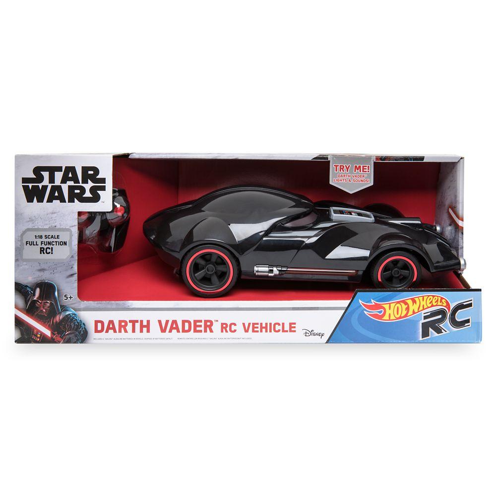 Darth Vader Hot Wheels RC Vehicle by Mattel