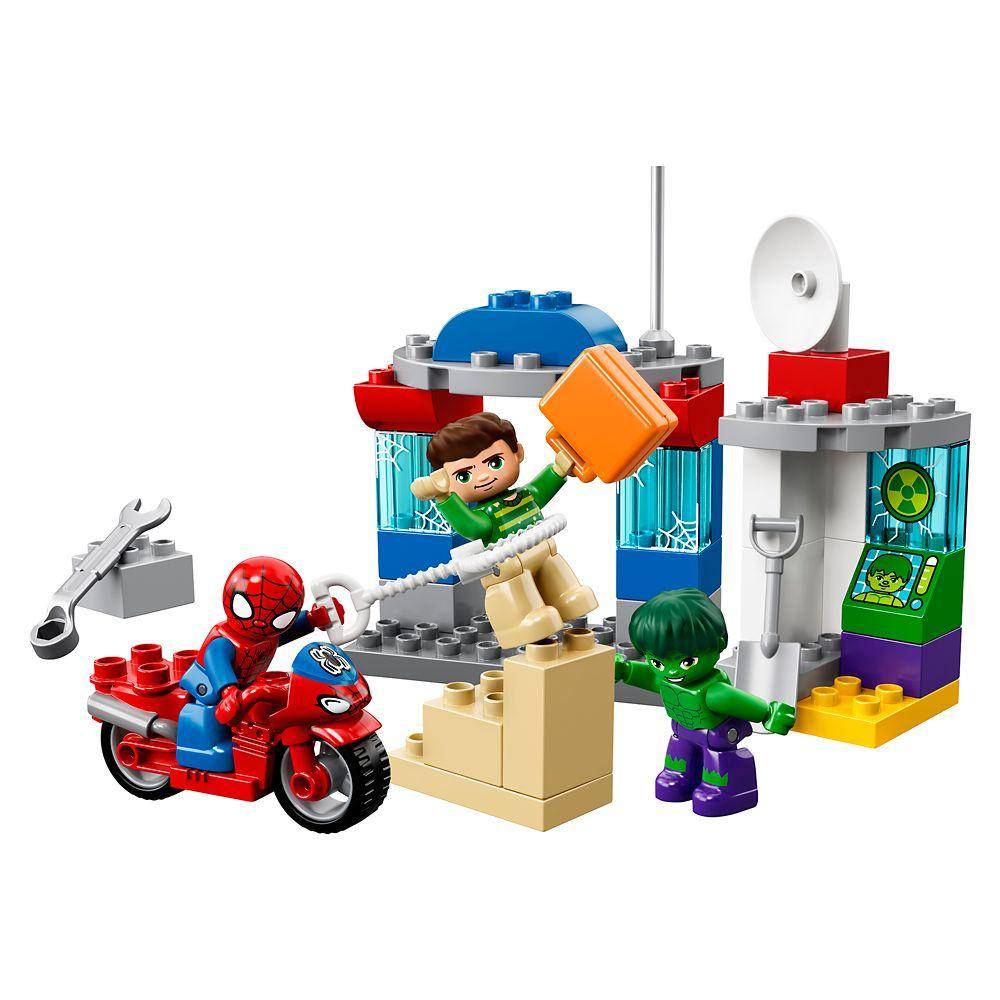 Spider-Man & Hulk Adventures LEGO Duplo Playset
