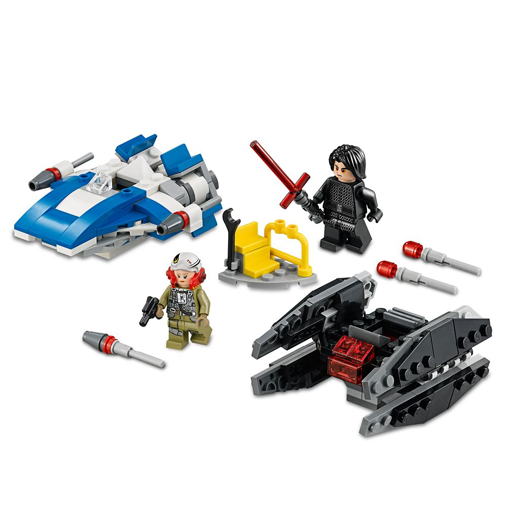 A-Wing vs. TIE Silencer Microfighters Playset by LEGO – Star Wars: The Last Jedi