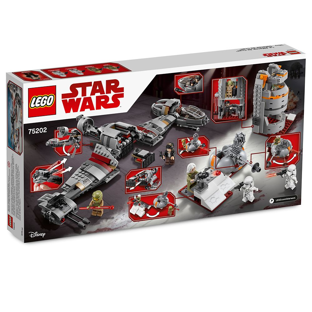 Defense of Crait Playset by LEGO – Star Wars: The Last Jedi