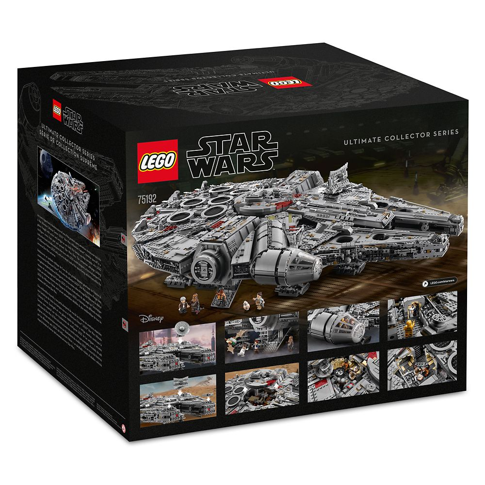 Millennium Falcon Ultimate Collector Playset by LEGO – Star Wars