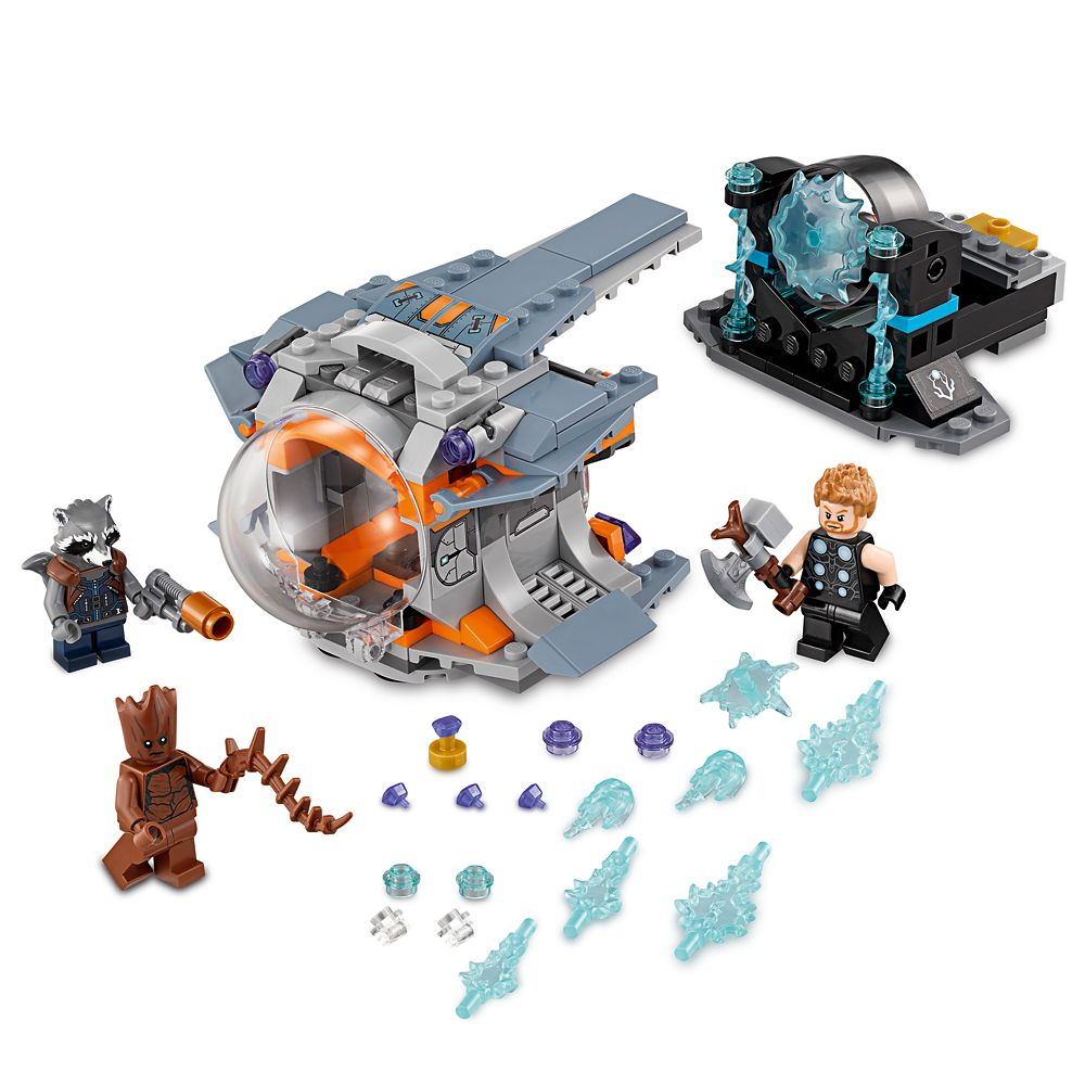Thor's Weapon Quest Playset by LEGO – Marvel's Avengers: Infinity War
