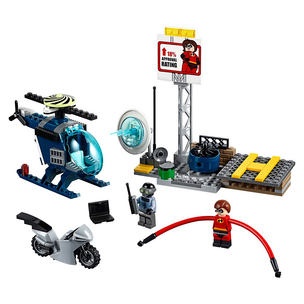 Elastigirl's Rooftop Pursuit Playset by LEGO Juniors – Incredibles 2