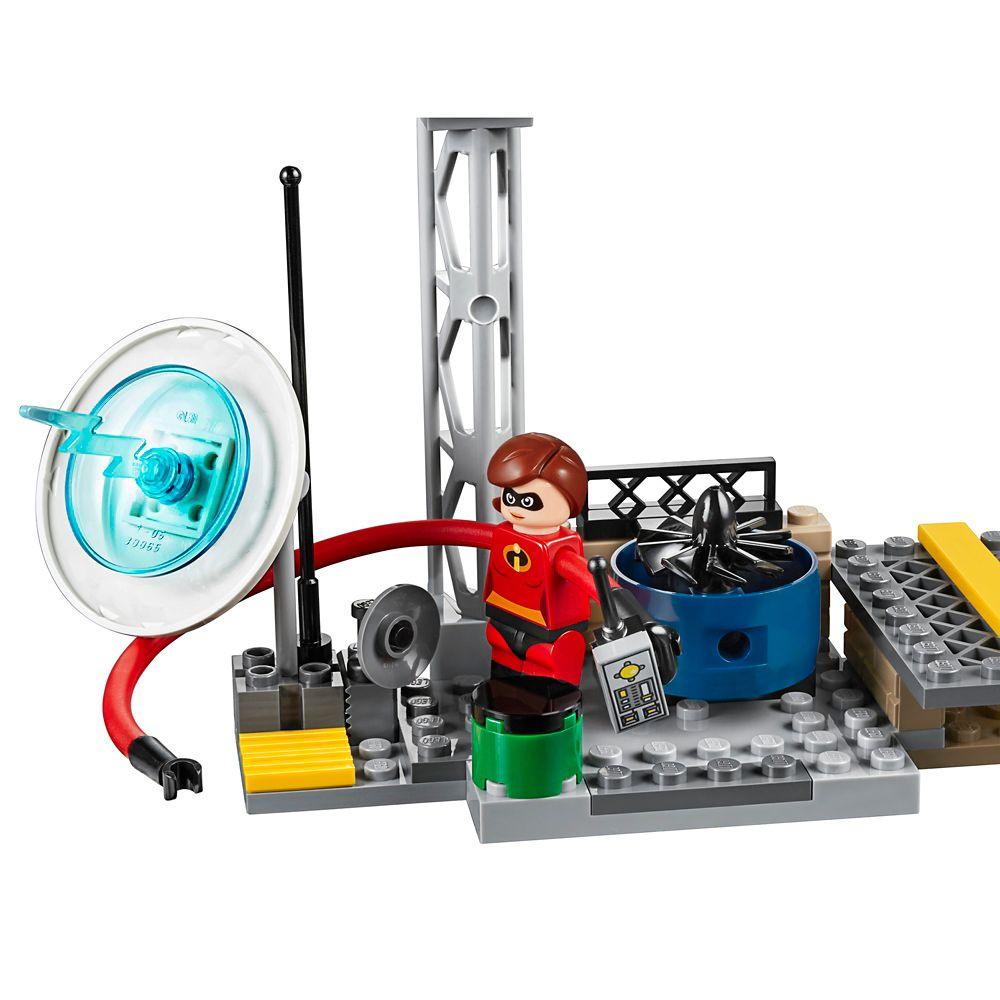 New LEGO 10759 Disney Juniors Incredibles 2 Elastigirl/'s Rooftop Pursuit Pixar