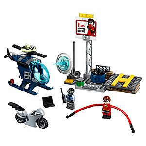 Elastigirl's Rooftop Pursuit Playset by LEGO Juniors - Incredibles 2 3061047091015P