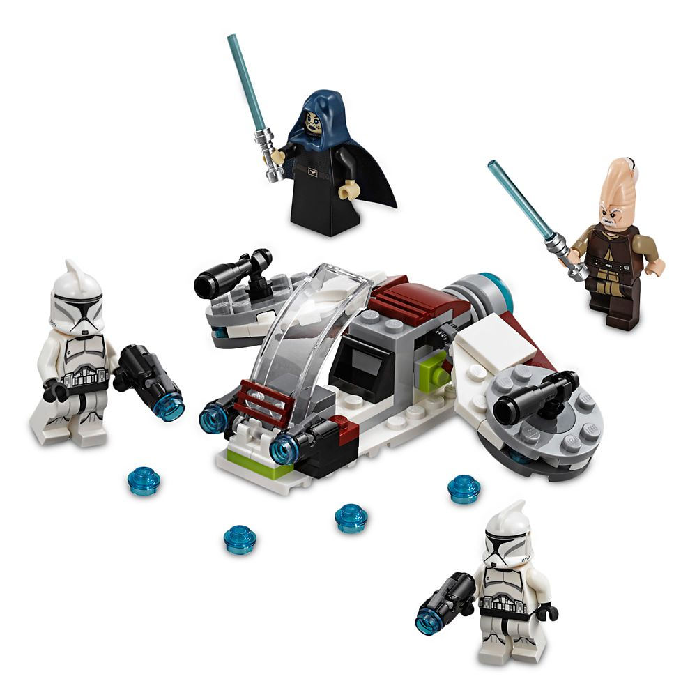 75206 LEGO Star Wars Jedi And Clone Troopers Battle Pack 102 Pieces Age 6 New!