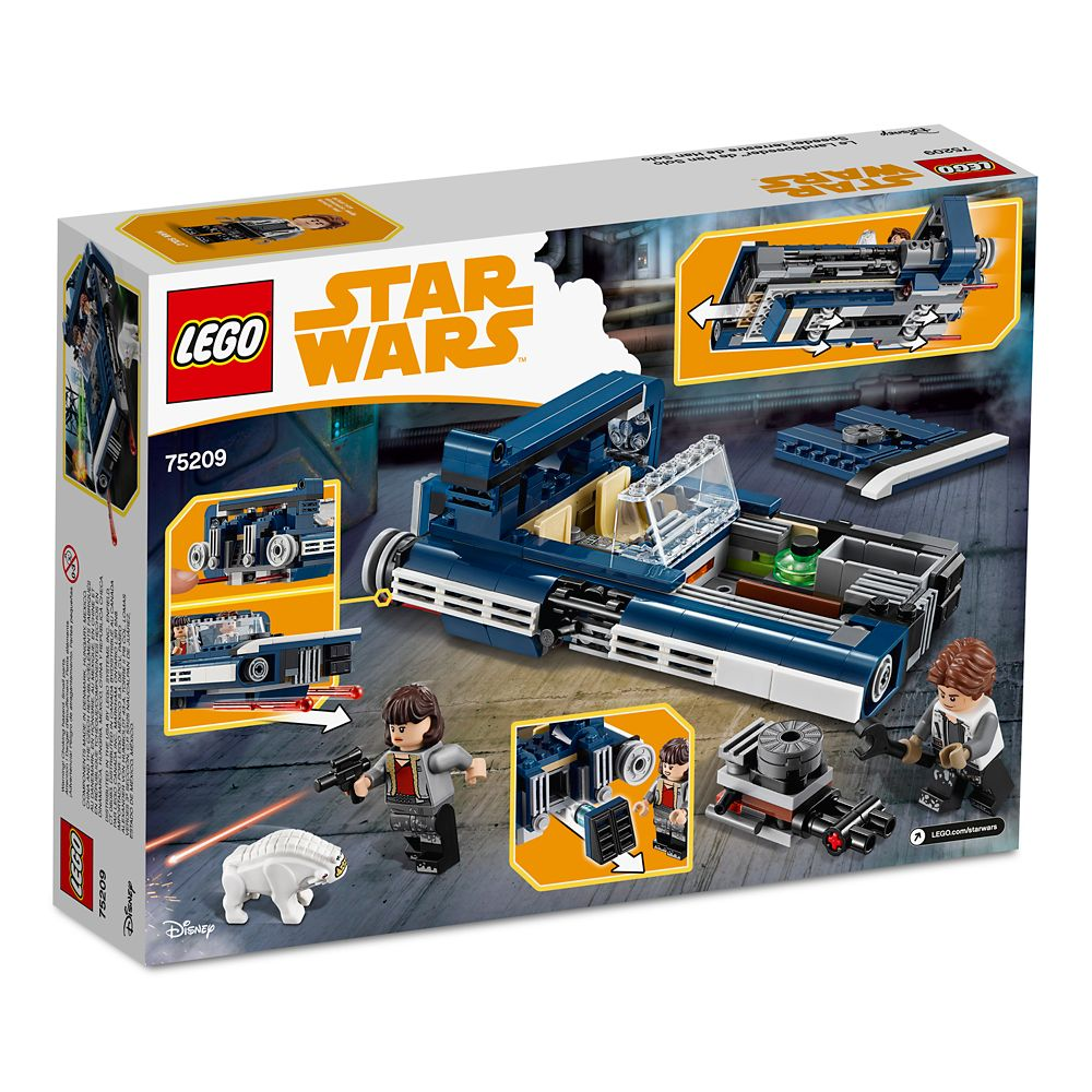 Han Solo Landspeeder Playset by LEGO – Solo: A Star Wars Story