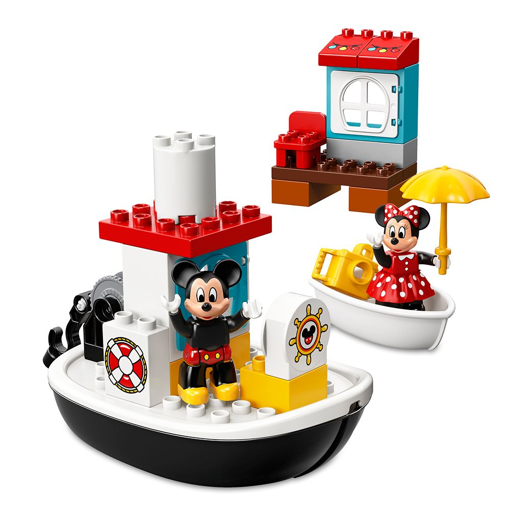 Mickey Mouse Boat Duplo Playset by LEGO – Mickey and the Roadster Racers