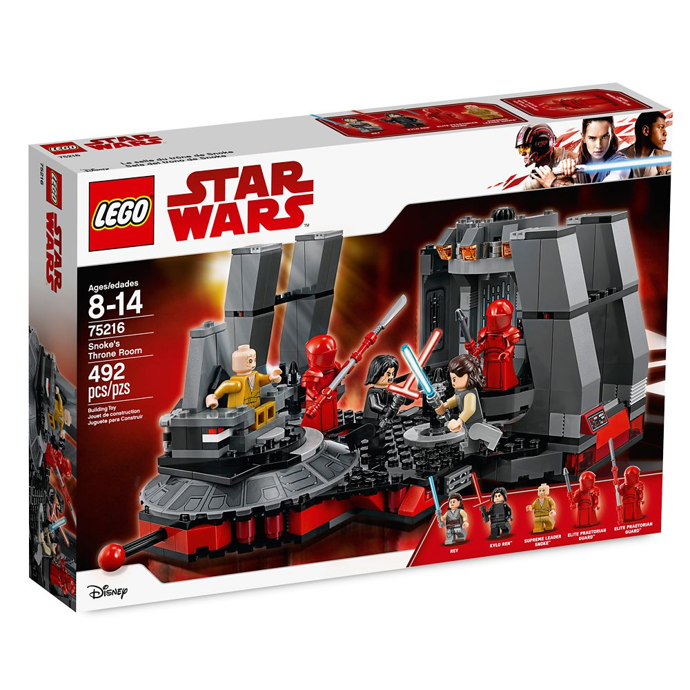 Snoke's Throne Room Playset by LEGO – Star Wars: The Last Jedi