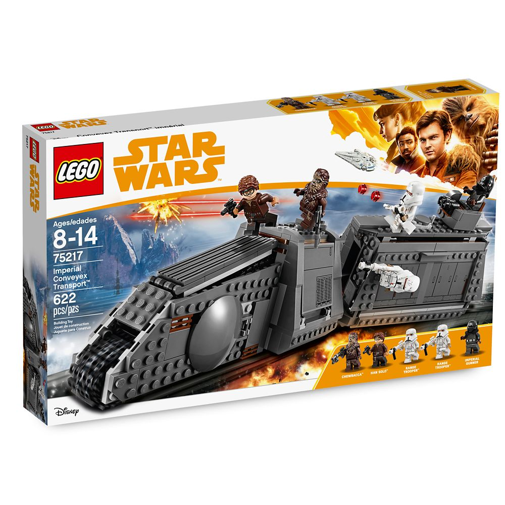 Imperial Conveyex Transport Playset by LEGO – Solo: A Star Wars Story