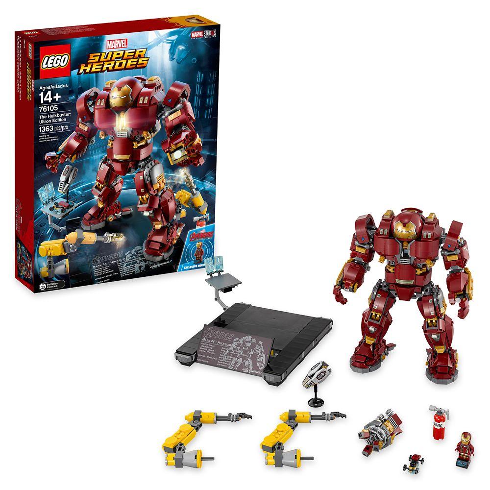 Custom lego figurine HULK arme h Marvel Avengers