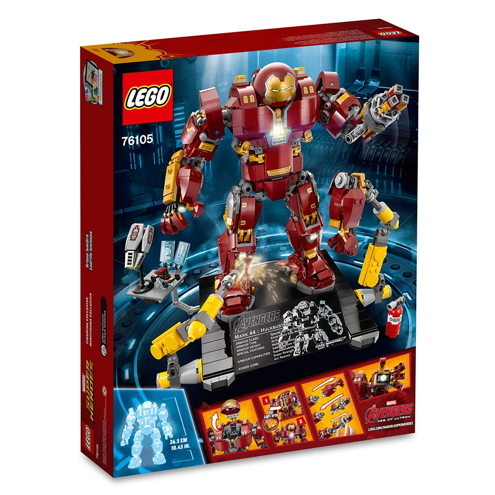 The Hulkbuster: Ultron Edition Playset by LEGO – Marvel's Avengers: Age of Ultron