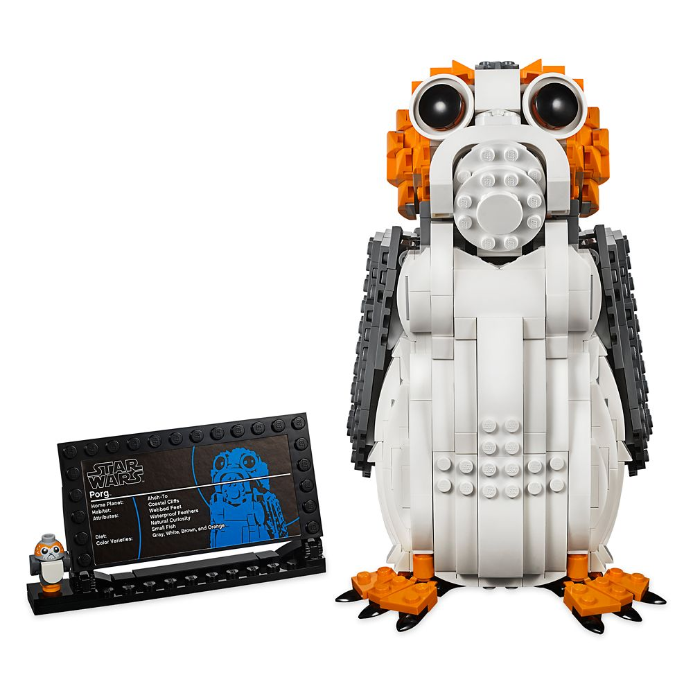 Porg Figure by LEGO – Star Wars: The Last Jedi