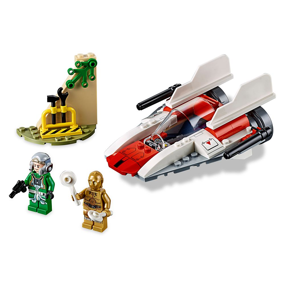 Rebel A-Wing Starfighter Playset by LEGO Juniors – Star Wars