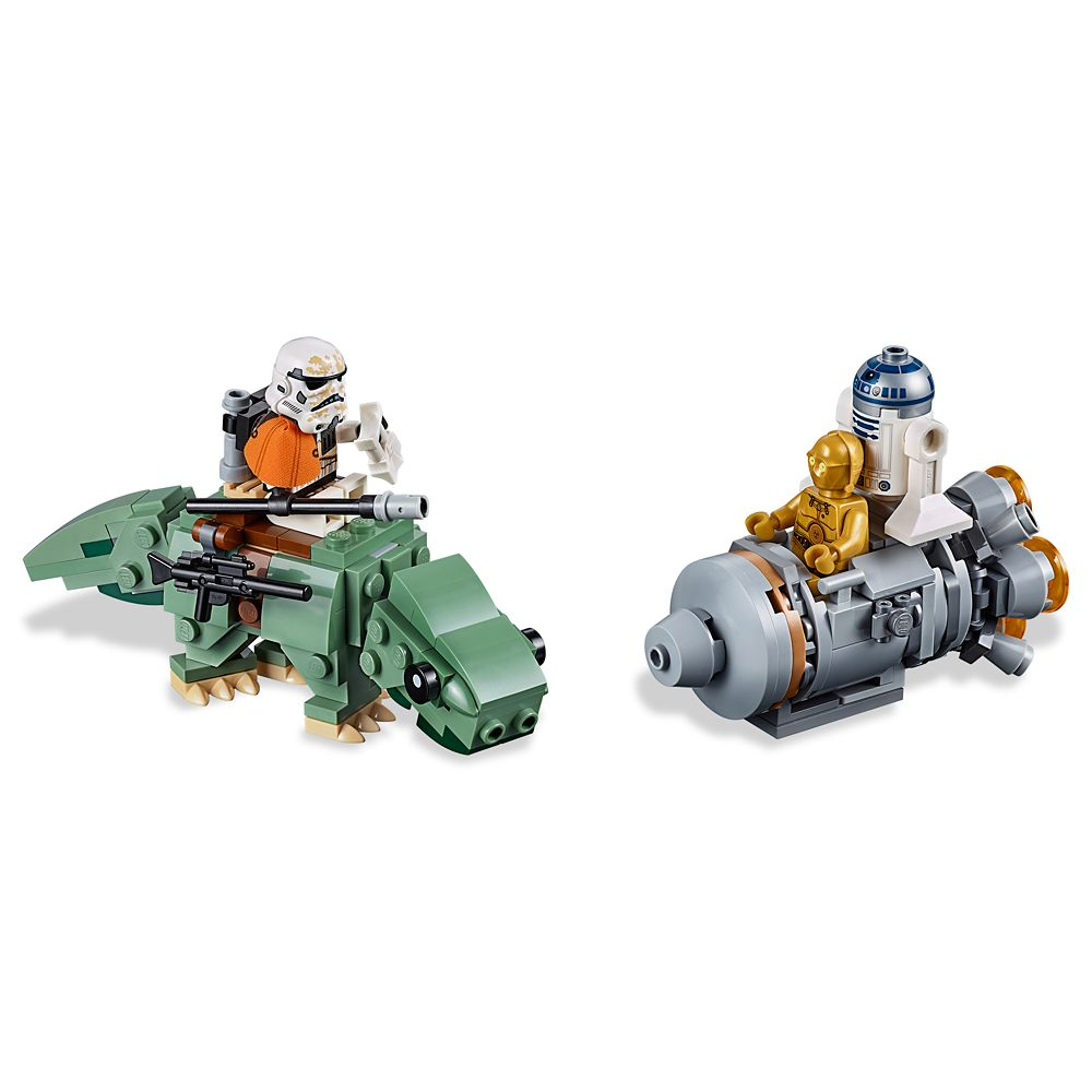 Escape Pod vs. Dewback Microfighters Playset by LEGO  Star Wars: A New Hope Official shopDisney