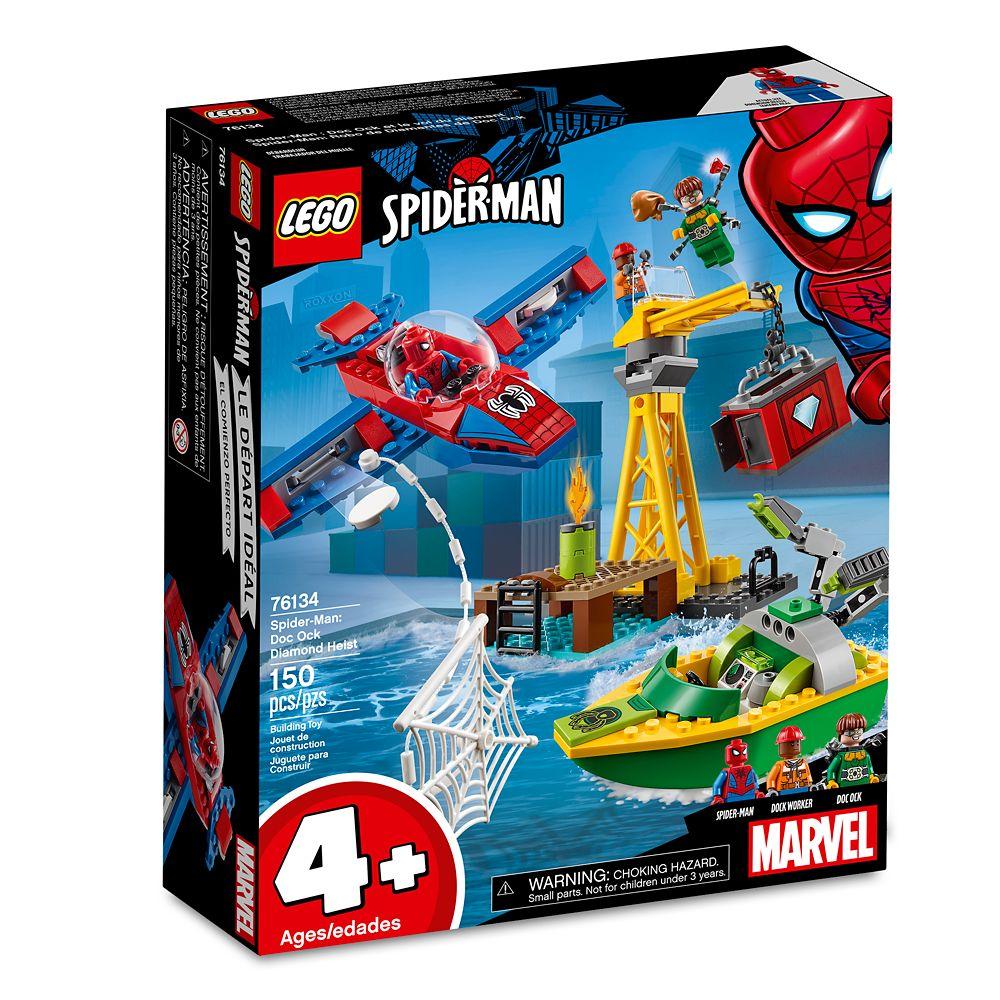 Spider-Man: Doc Ock Diamond Heist Playset by LEGO