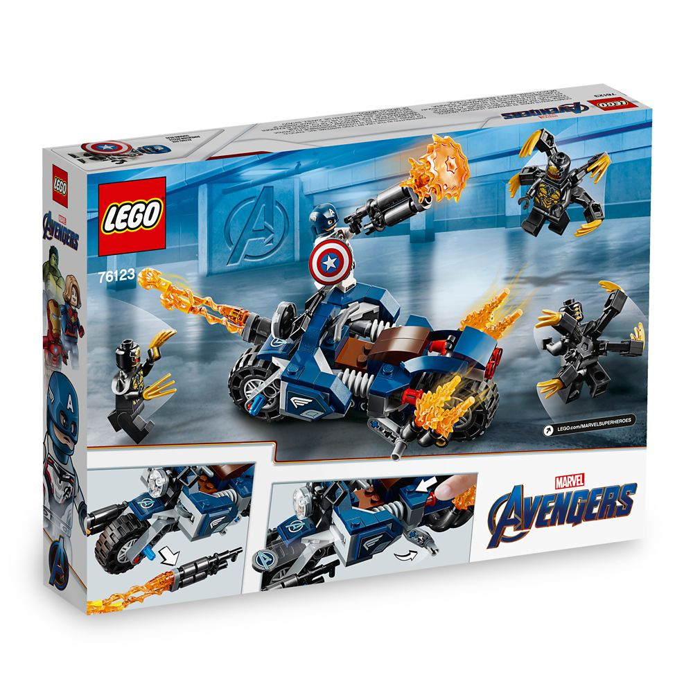 Captain America Outriders Attack Play Set by LEGO – Marvel's Avengers: Endgame