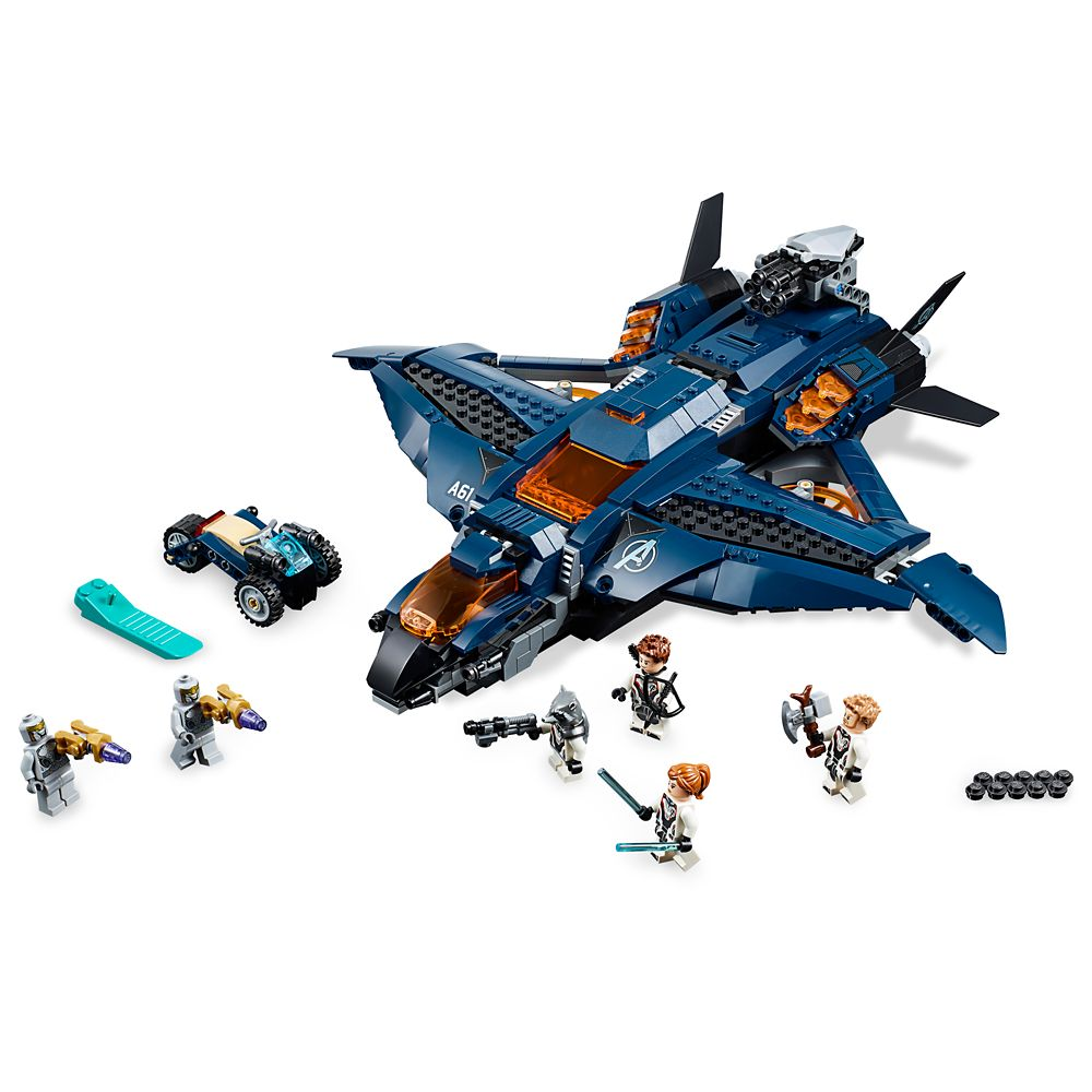 Marvel's Avengers Ultimate Quinjet Play Set by LEGO – Marvel's Avengers: Endgame