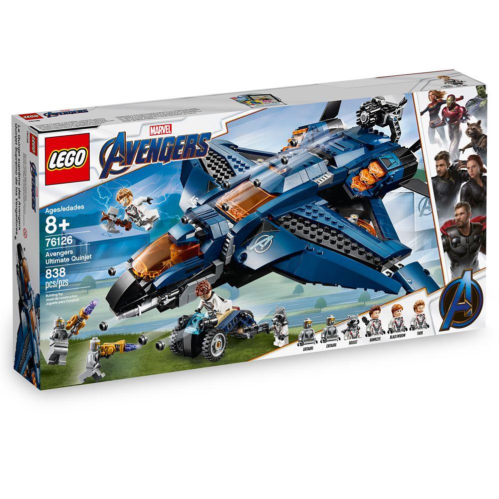Marvel's Avengers Ultimate Quinjet Play Set by LEGO – Marvel's Avengers: Endgame