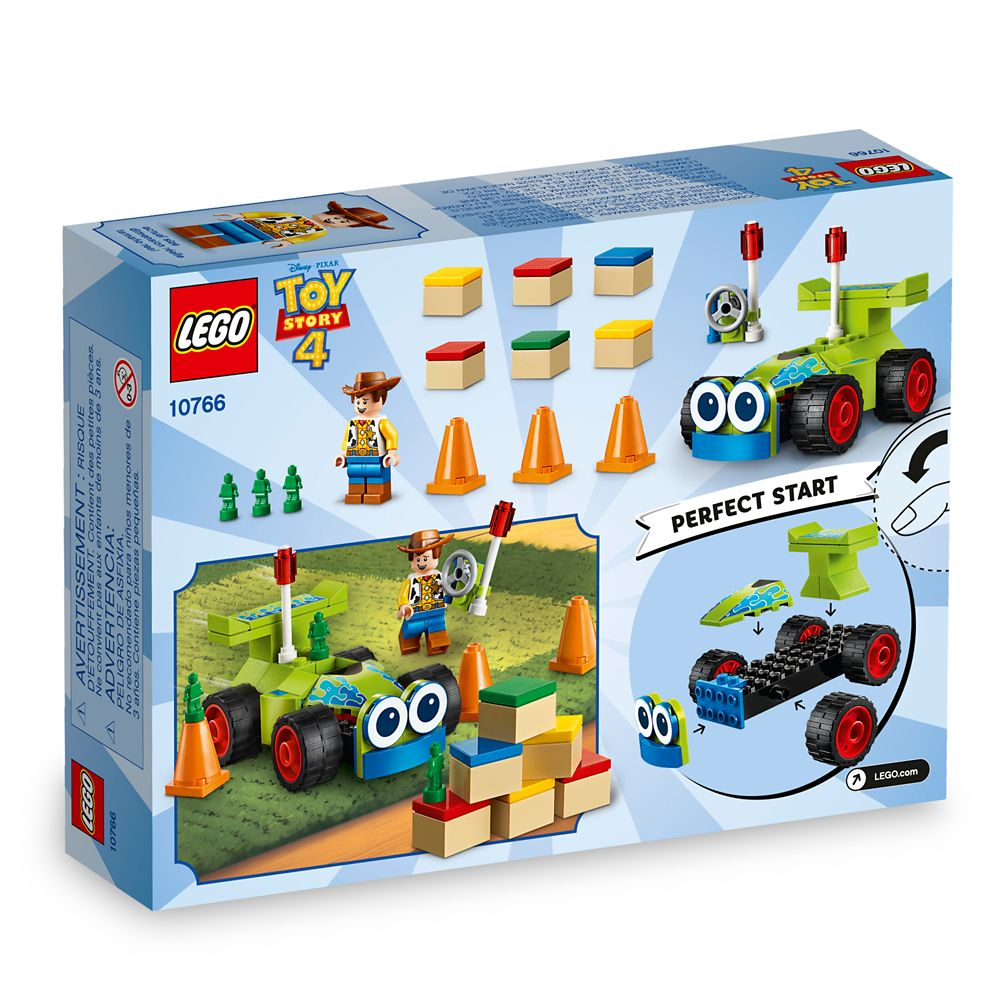 Woody & RC Play Set by LEGO – Toy Story 4