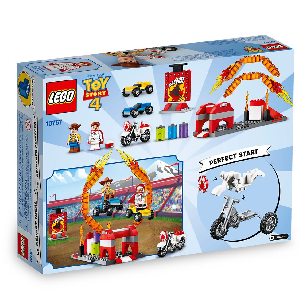 Duke Caboom's Stunt Show Play Set by LEGO – Toy Story 4