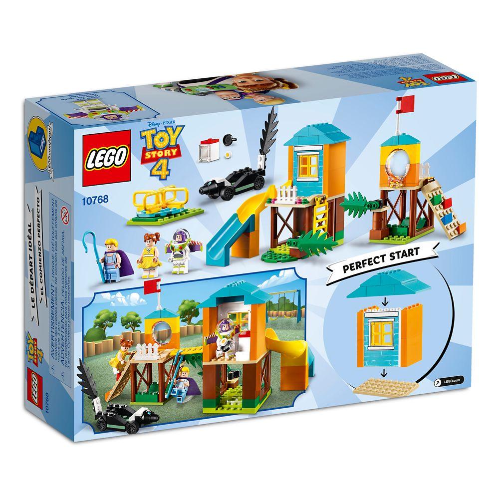 LEGO Disney Pixar's Buzz & Bo Peep's Playground Adventure 10768 Building Set