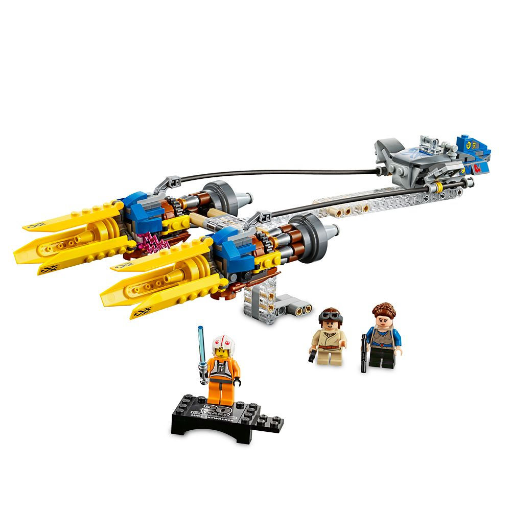Anakin's Podracer  20th Anniversary Edition Play Set by LEGO  Star Wars: The Phantom Menace Official shopDisney