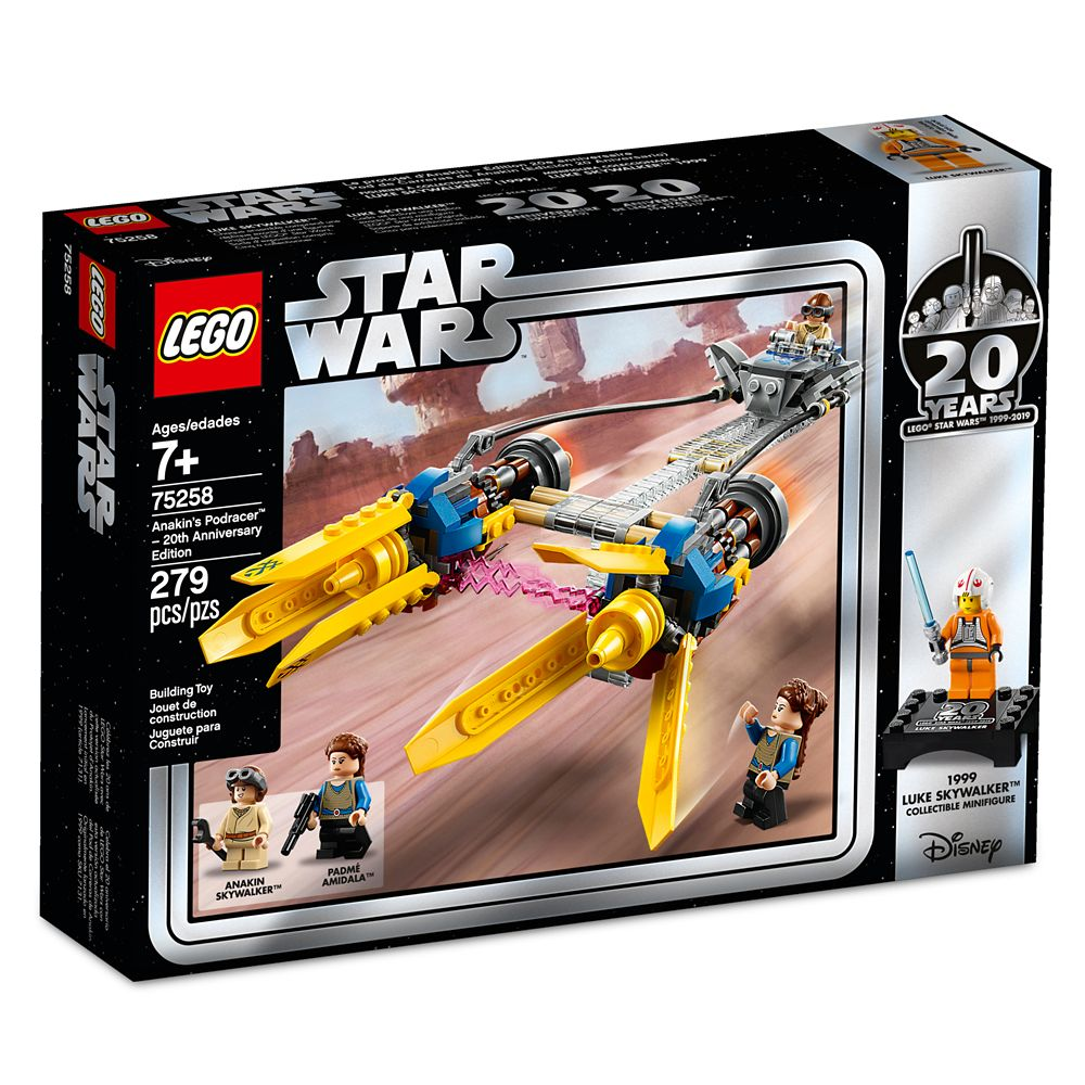 Anakin's Podracer – 20th Anniversary Edition Play Set by LEGO – Star Wars: The Phantom Menace