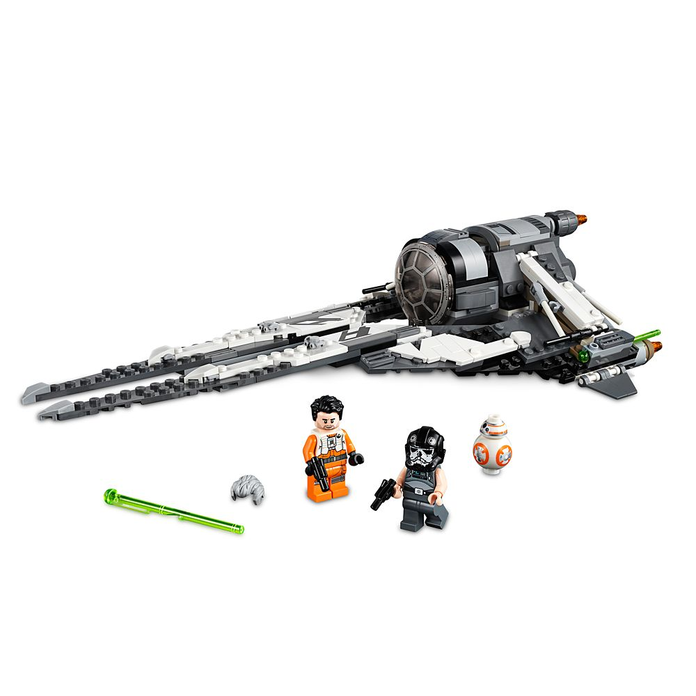 Black Ace TIE Interceptor Play Set by LEGO  Star Wars Resistance Official shopDisney